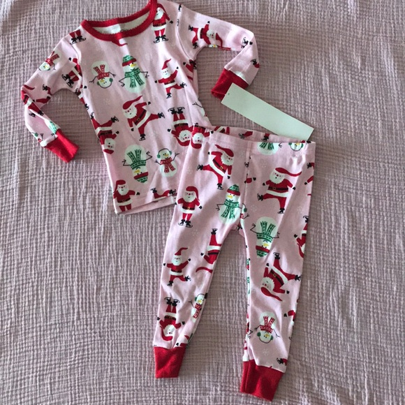 56b338162 Carter's Pajamas | Carters Two Piece Winter Holiday Pajama Set ...